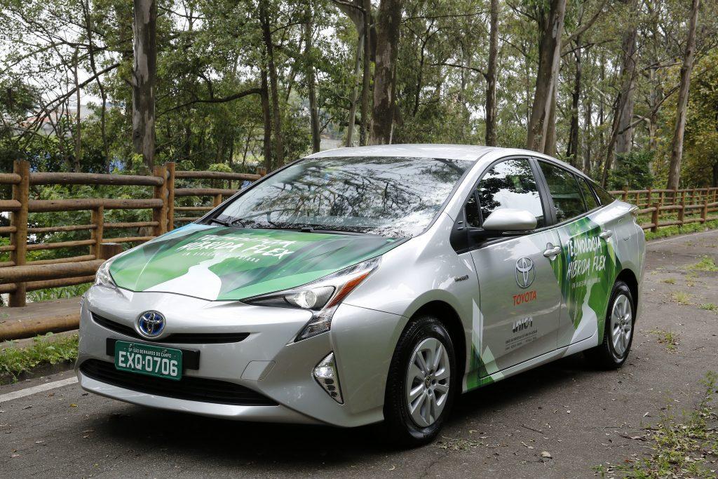 Toyota vai produzir no Brasil primeiro veículo híbrido com motor flex do mundo