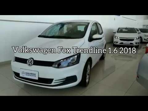 Volkswagen Fox Trendline 1.6 2018