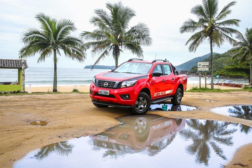 Nissan Frontier ganha acessórios que facilitam a vida dos condutores