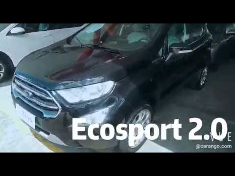 Ford EcoSport Titanium 2.0 16v Flex automático 2018