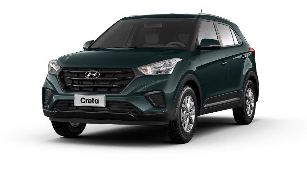 Hyundai apresenta nova versão do Creta, a Action com motor 1.6