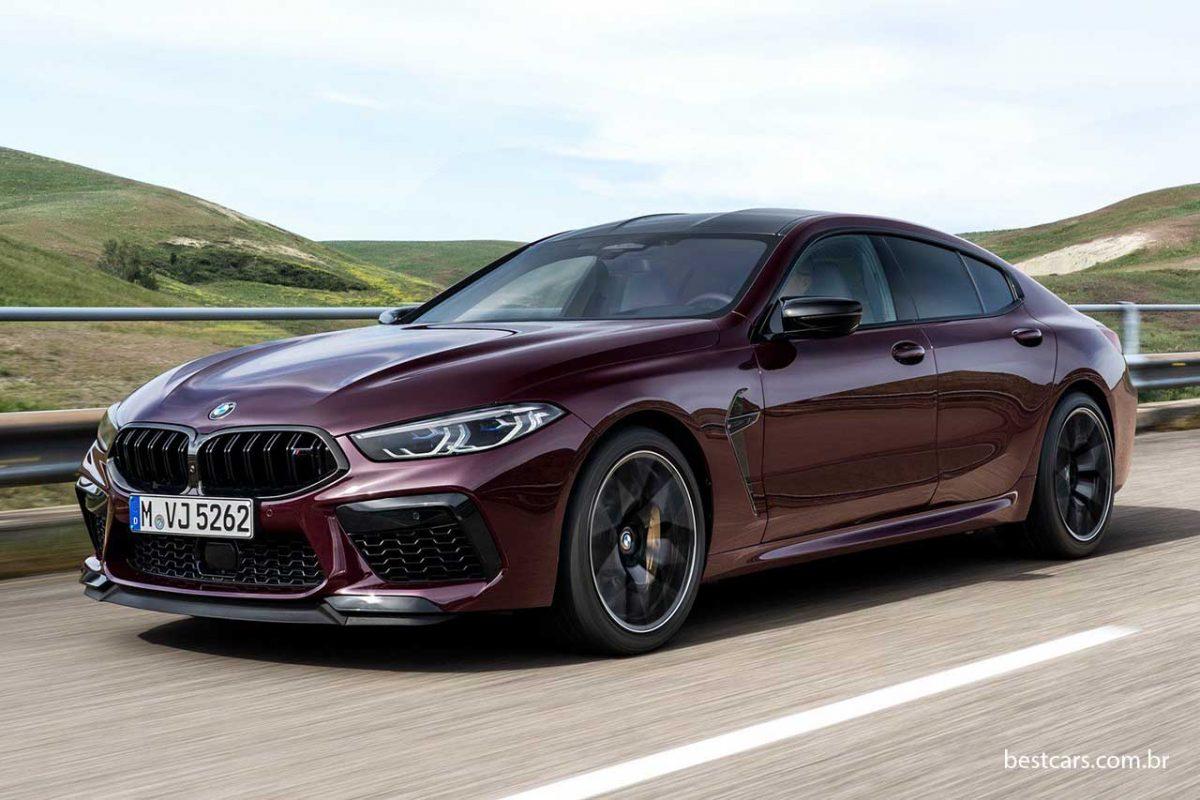 BMW M8 Gran Coupe de 625 cv vem por R$ 1,13 milhão