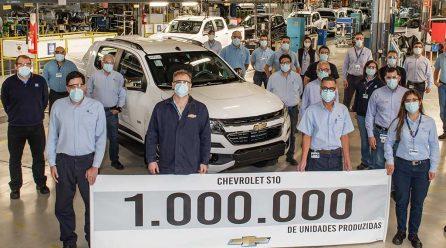 Chevrolet S10 completa 1 milhão de unidades produzidas em 25 anos