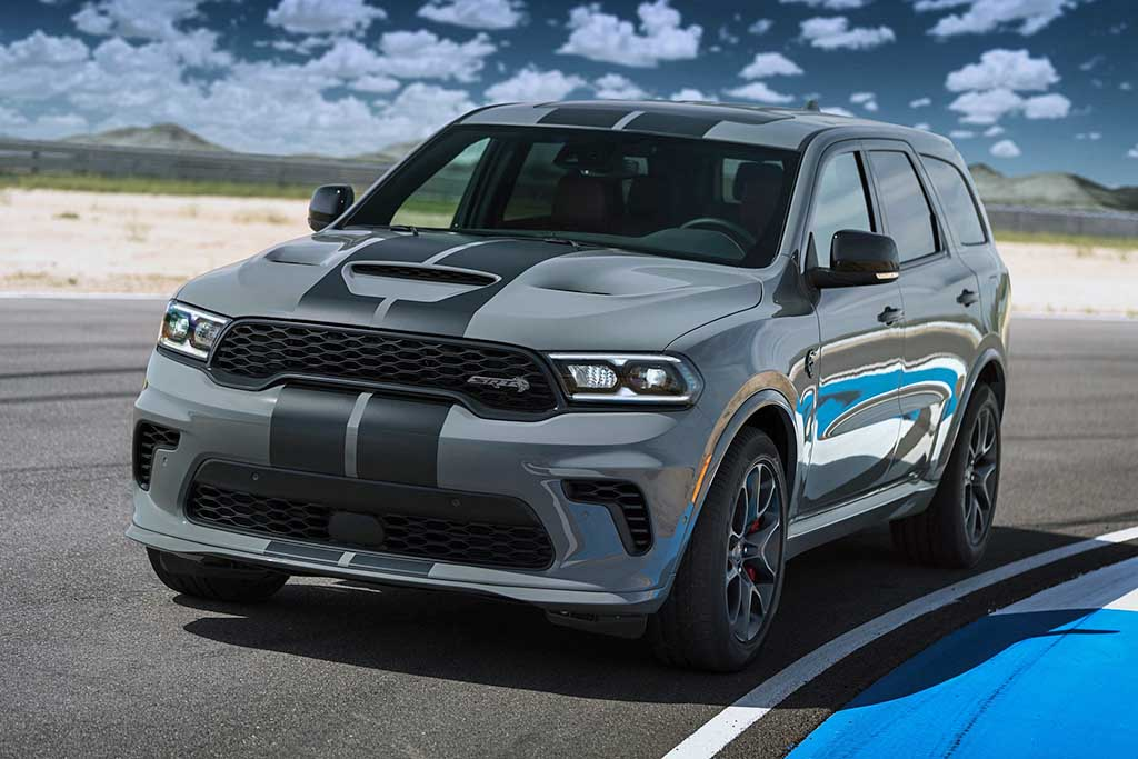Dodge anuncia seu mais rápido e potente SUV nos EUA, o Durango Hellcat