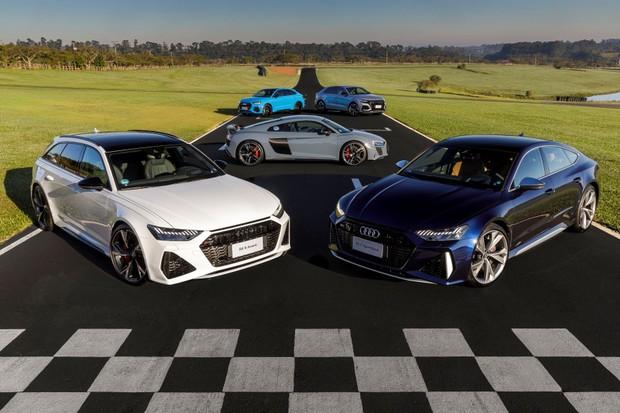 Audi inicia pré-venda de RS 6, RS 7, RS Q3, RS Q3 Sportback e RS Q8