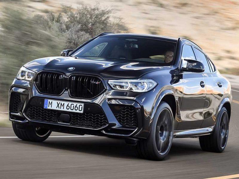 BMW X6 M chega ao Brasil com 600 cv por R$ 891 mil
