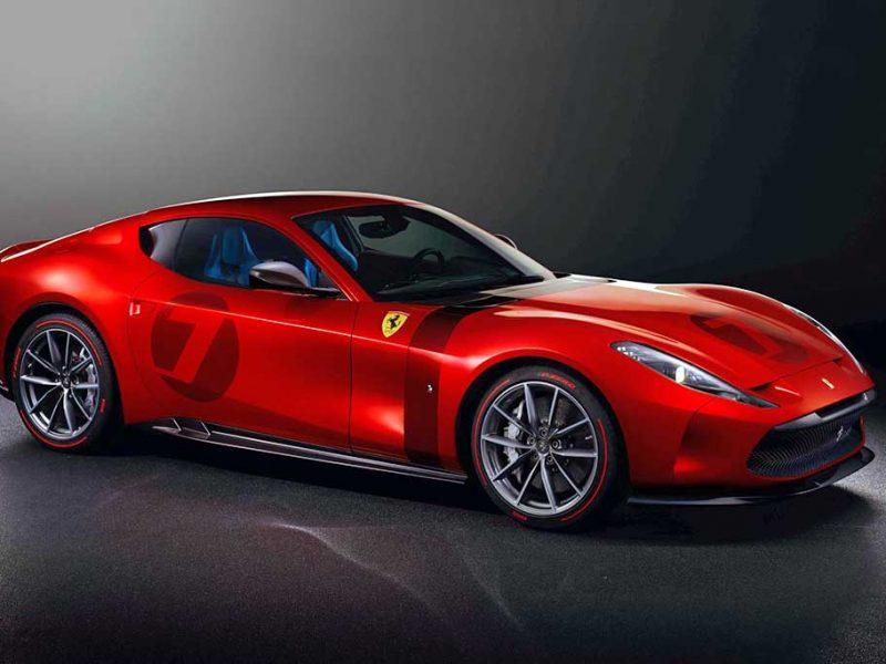 Ferrari Omologata: exemplar único baseado na 812 Superfast