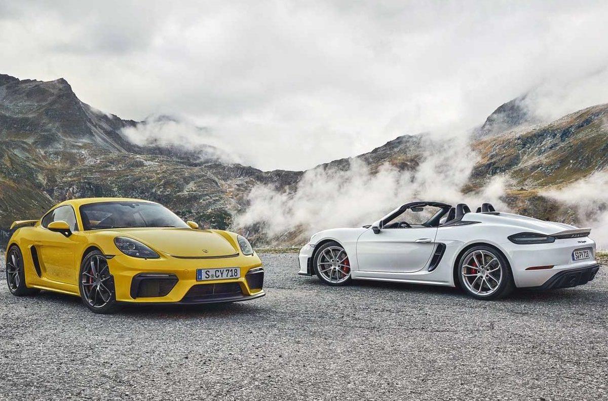 Porsche 718 Cayman GT4 e 718 Spyder chegam ao Brasil