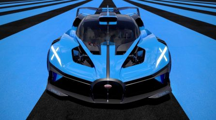 Bugatti Bolide alcança 500 km/h com 1.850 cavalos