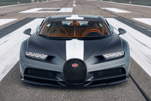 Bugatti Chiron Les Legendes du Ciel homenageia aviadores