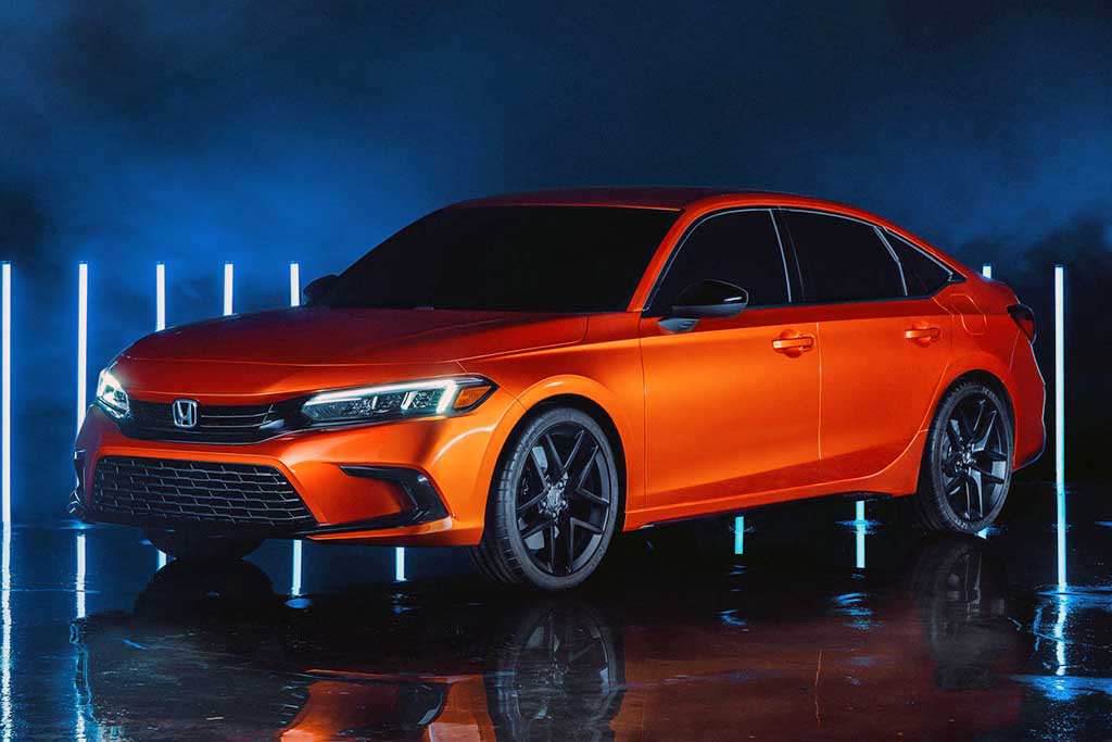 Honda apresenta Civic 2022