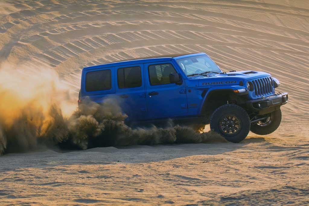 Jeep Wrangler Rubicon 392 estreia com V8 de 470 cv
