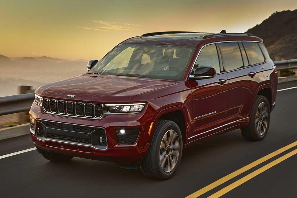 Novo Jeep Grand Cherokee vem maior e com sete lugares
