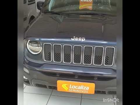 Jeep Renegade Longitude 1.8 Flex Automático 2020