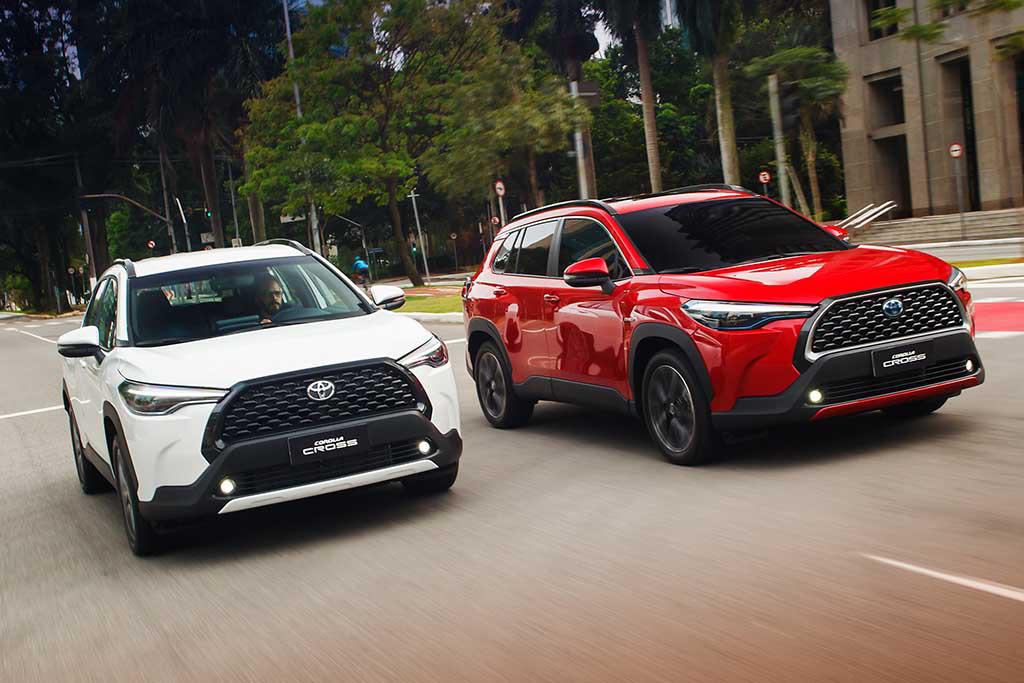 Toyota Corolla Cross estreia com híbrido e preços a partir de R$ 140 mil