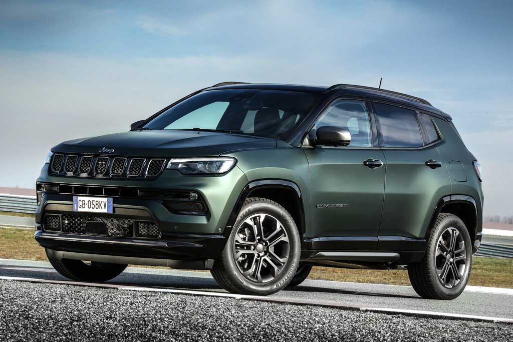 Jeep anuncia Compass 2022 em edição especial de 80 anos para abril